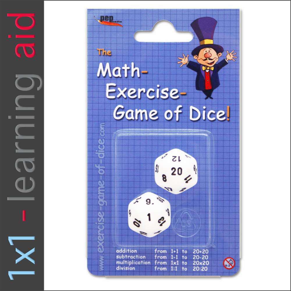 Math Exercise Games of Dice